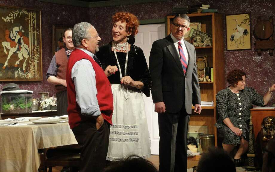 """The strong, captivating cast of """"You Can't Take It with You"""" includes Dustin Lucas (from left), Ray Baird, Jo Grabow, Timothy Stoner and Kimberly Stoner. Photo: Courtesy Patty Loftis"""