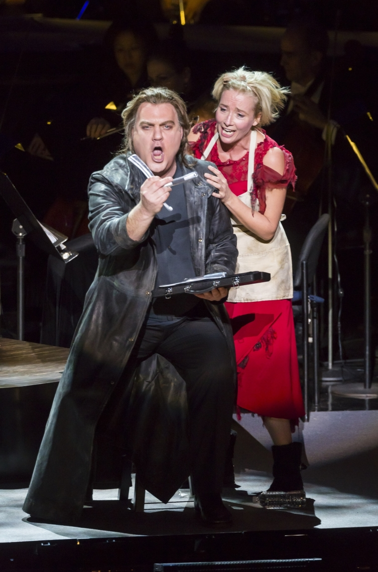 live from lincoln center� review a tasty sweeney todd