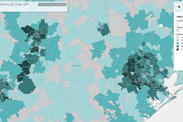 Map shows Obamacare enrollment in Bexar County by ZIP code ...