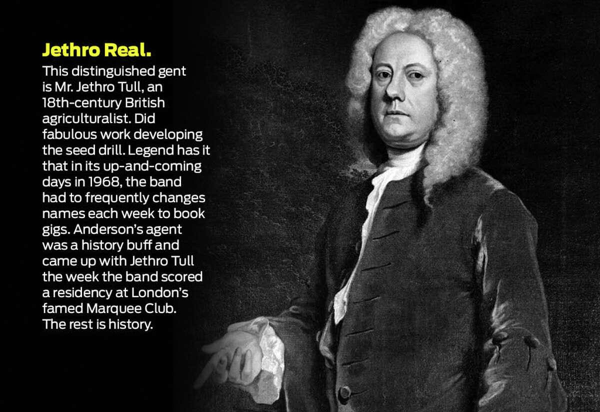 Jethro Tull, 18th-century agriculturalist