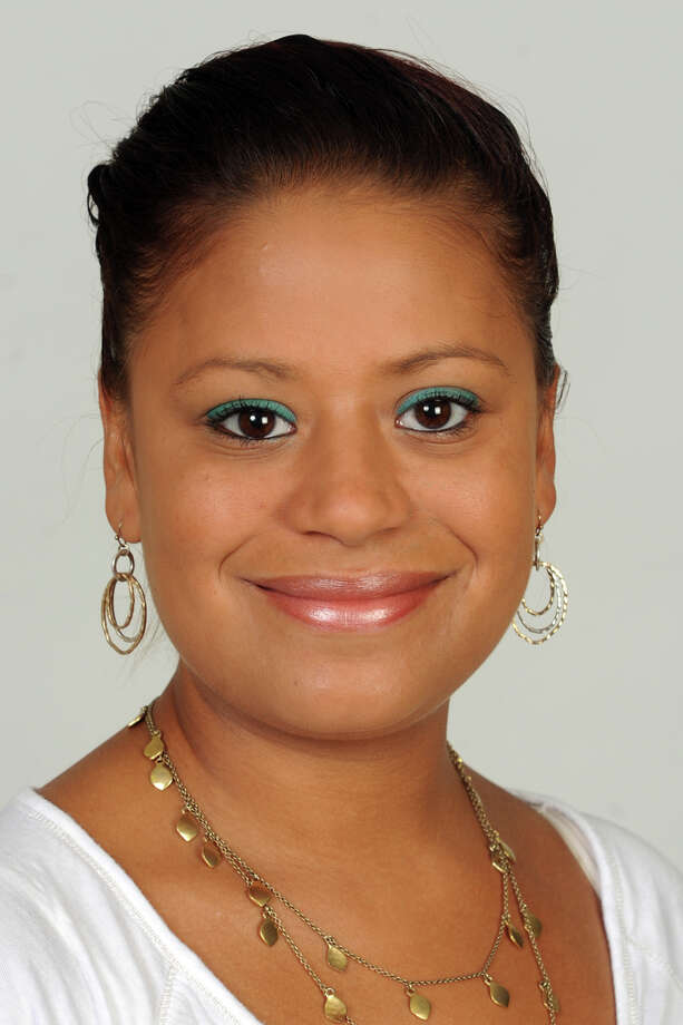 Christina Ayala of Bridgeport, Democratic State Representative in the 128rd District, Aug. 7, 2014. Photo: Ned Gerard / Connecticut Post