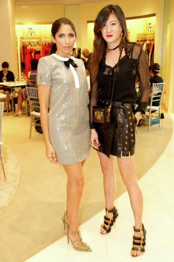 Sobia Shaikh and Jessica Hon at Neiman Marcus & Vanity Fair's Art of Fashion on September 17, 2014. Photo: Drew Altizer Photography / Drew Altizer Photography