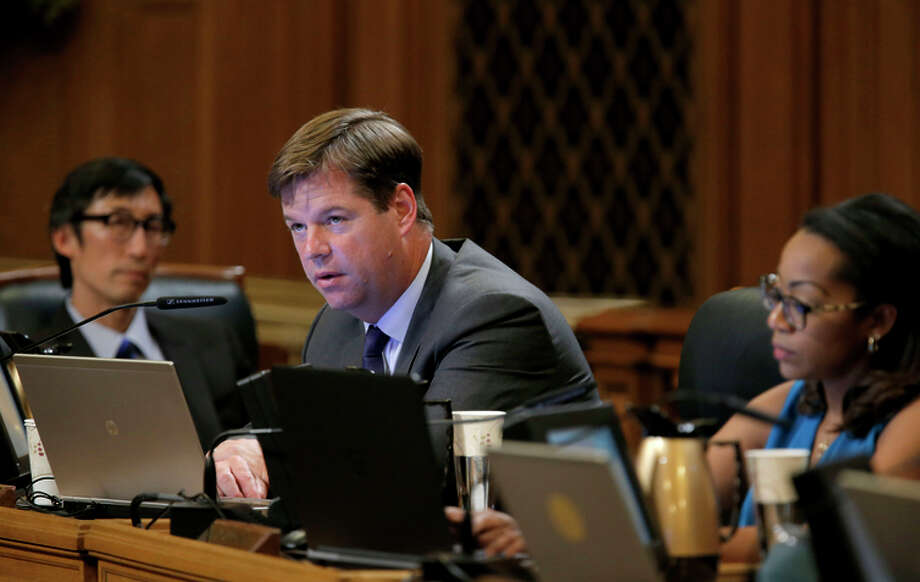 Supervisor Mark Farrell is among those proposing a change in how the vacation rentals are handled. Photo: Michael Macor / The Chronicle / ONLINE_YES