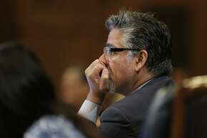 Supervisor John Avalos during discussions about the Transbay Transit District special tax assessment, during the Board of Supervisors meeting on Tuesday Sept. 23, 2014 at City Hall in San Francisco, Calif.