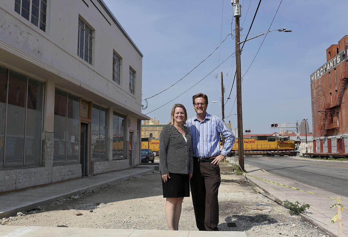 Douglas Architects' Melissa and Andrew Douglas got a grant for their Houston Street building.
