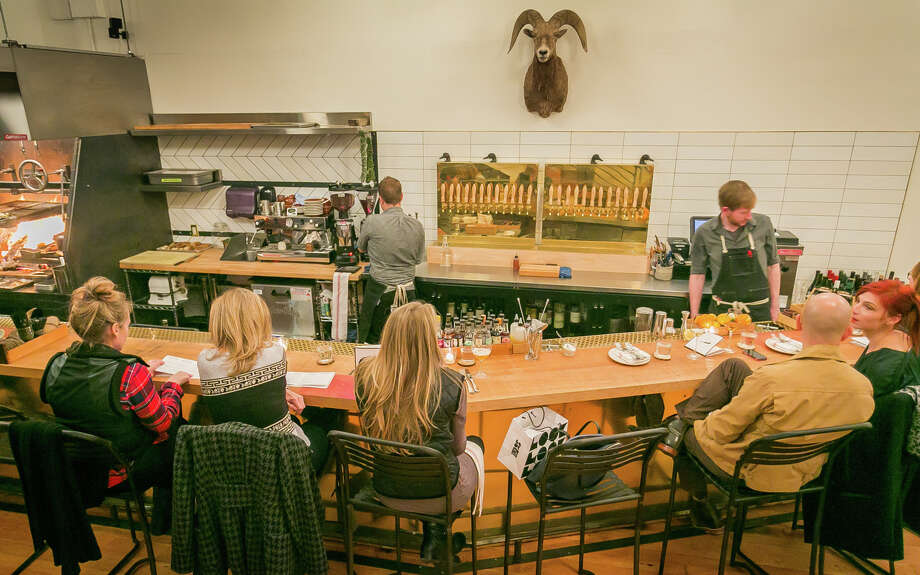 TBD, from the team behind AQ, Mark Liberman and Matt Semmelhack, has been adding more a la carte choices to its fixed-price menu. The style and offerings vary widely week to week. Photo: John Storey, FRE / Special To The Chronicle / ONLINE_YES