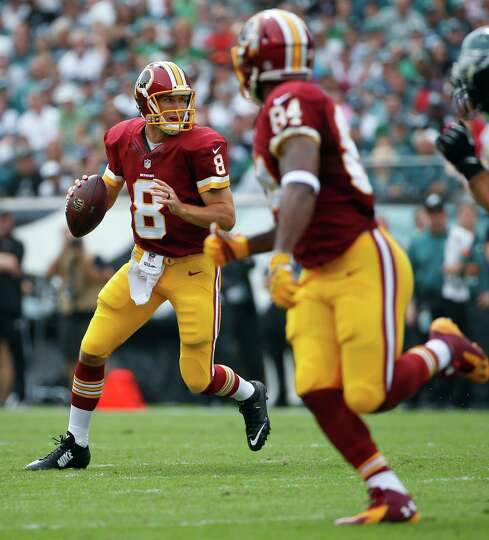 Washington QB Kirk Cousins (8), who has five touchdown passes with just one interception and a 105.8