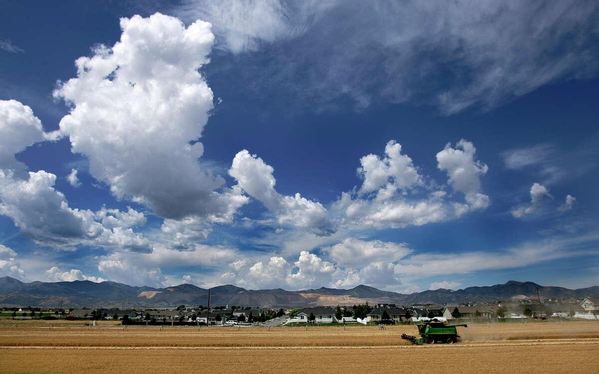 No. 18: South Jordan, Utah Population:52,170 Nearest metro:Salt Lake City, Utah Median home price:$309,156 Median family income:$96,516 Projected job growth:9.2 percent Source:Money