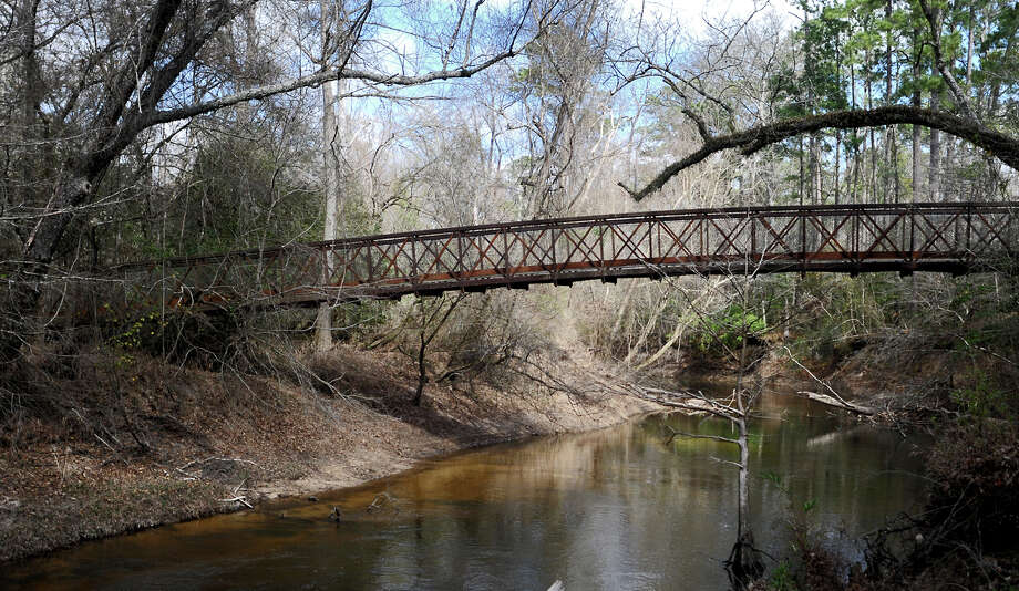 A bridge crosses one of the water channels in the Big Thicket National Perserve near Kountze on Sunday. The park offers approximately 40 miles of trails for hiking, bird watching, kayaking, and biking. Tammy McKinley\The Enterprise / Beaumont