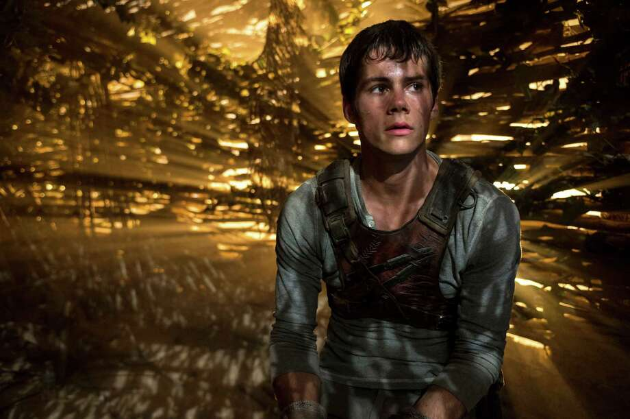 "Dylan O'Brien stars in ""The Maze Runner."" Photo: Ben Rothstein, HONS / 20th Century Fox"