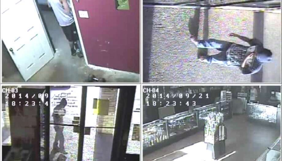 The San Marcos Police Department has released video footage of a shooting at a San Marcos smoke shop on Sunday that left a clerk in critical condition.  Patrick William Reilly, 25, was shot once in the chest while confronting a suspect armed with a pistol during a robbery at the Gotta Habit Smoke Shop at 700 N. LBJ Drive, just north of the Texas State University campus. Photo: Fechter, Joshua I, Courtesy Of San Marcos Police Department