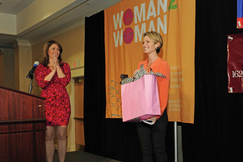 Were you Seen at The Foundation for Ellis Medicine's Women's Night Out event with featured speaker, 'Good Morning America' news anchor Amy Robach, held at the Albany Marriott in Colonie on Tuesday, Sept. 23, 2014? Photo: Joan Heffler / JOAN HEFFLER