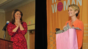 Were you Seen at The Foundation for Ellis Medicine's Women's Night Out event with featured speaker, 'Good Morning America' news anchor Amy Robach, held at the Albany Marriott in Colonie on Tuesday, Sept. 23, 2014?