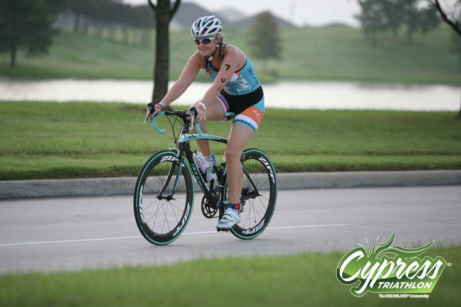 Breast cancer survivor Jenna D'Amico now competes in many athletic events, including triathlons and soon, a half-marathon.