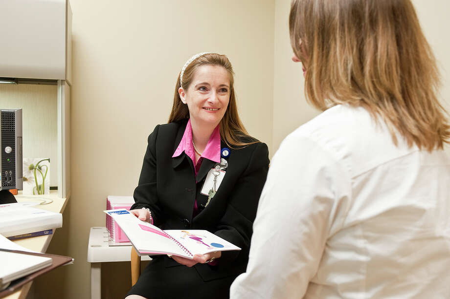 Karen Davin is a nurse navigator at the Bobetta C. Lindig Breast Care Center at Memorial Hermann Memorial City Medical Center.
