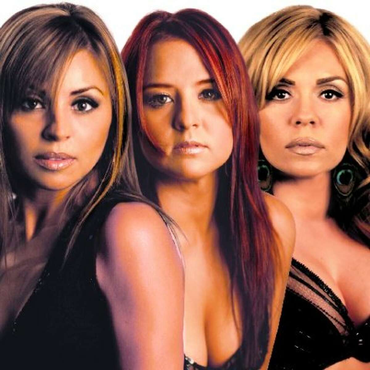 Las 3 Divas featuring hometown favorites Shelly Lares (center) and Stefani Montiel (right) were nominated for a Latin Grammy in 2006. That's Tejano Queen Elida Reyna on the left.