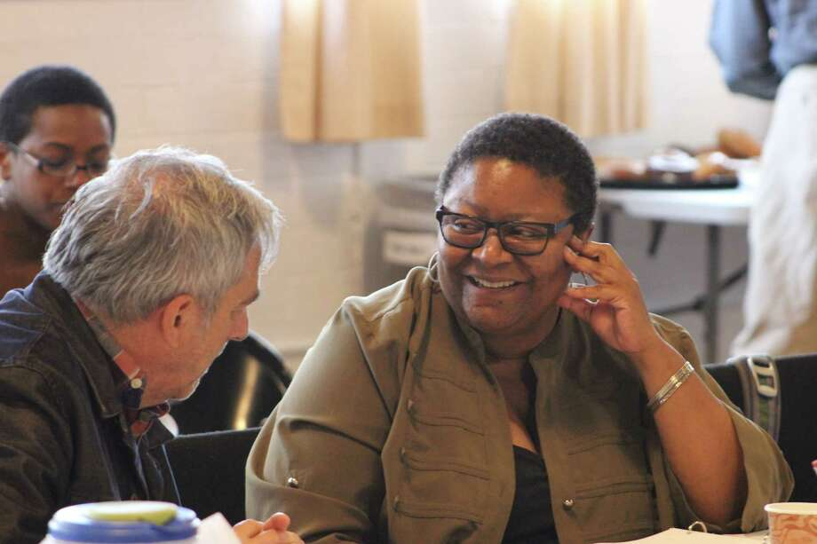 """Myra Lucretia Taylor is playing the role of the stage manager in the production of """"Our Town"""" that opens the  Long Wharf Theatre season in New Haven on Wednesday, Oct. 8. Photo: Contributed Photo / Connecticut Post Contributed"""