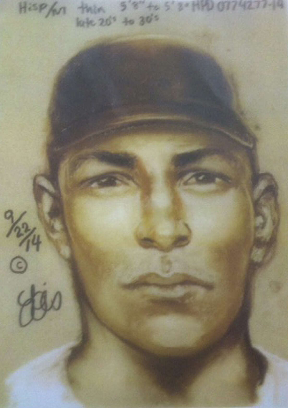 Houston Police have released two composite images, including this one, of persons of interest in the June 20, 2014 killing of Pedro Diaz.