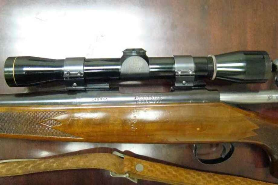 A rifle reportedly used to carry out one of the worst killing sprees in Texas history is up for sale in Dallas by a gun collector. The Remington 700 rifle used by ex-Marine Charles Whitman during his August 1, 1966 reign of terror from the observation deck at the University of Texas in Austin is up on Dallas' Texas Gun Trader website with a starting price tag of $25,000. Photo: Donald Weiss / Texas Gun Trader