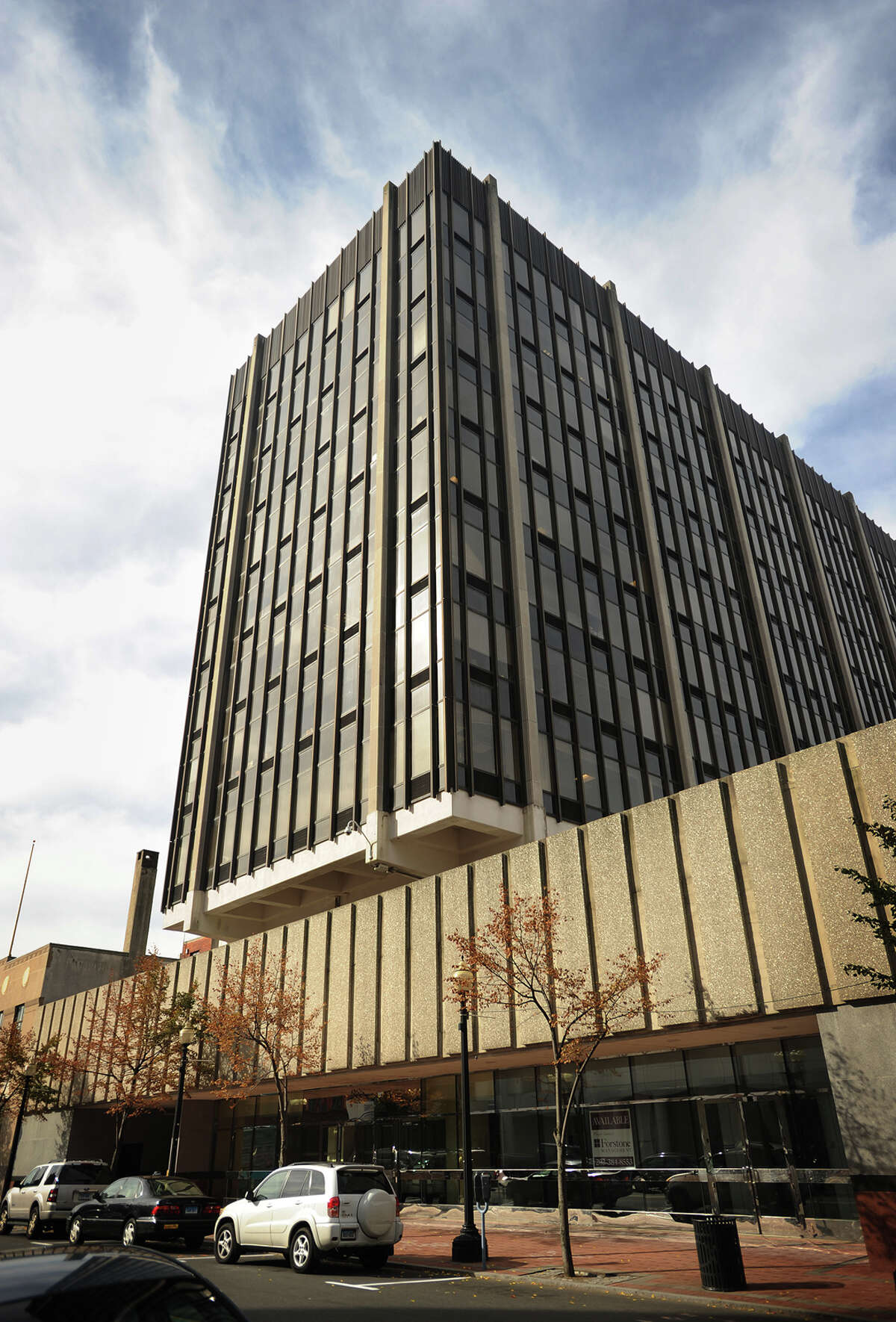 855 Main Street in downtown Bridgeport, Conn. is one of several city buildings being developed by Forstone Capital.