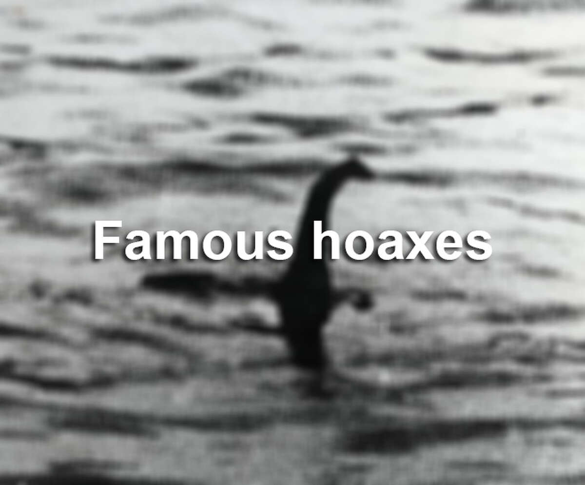 From urban legends and mosters to straight-up liars, click through to see some of the most famous hoaxes of all time.