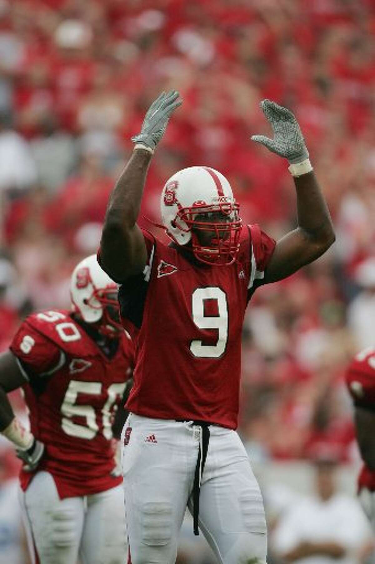 Mario Williams played college football at North Carolina State University.