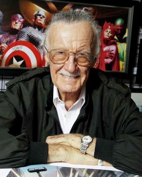 Legendary comic creator Stan Lee will be honored at the Alamo City Comic Con. Photo: Marion Curtis / Associated Press / Starpix