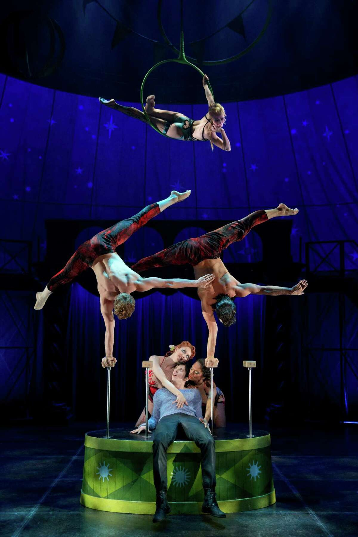 """""""Pippin"""" is enhanced by jaw-dropping circus effects."""