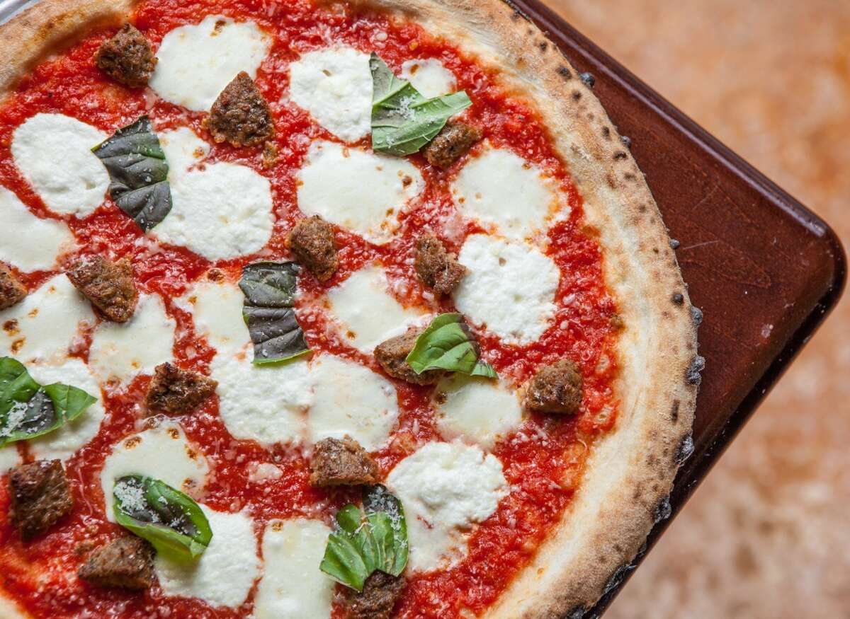 Polpette pizza at Pizaro's