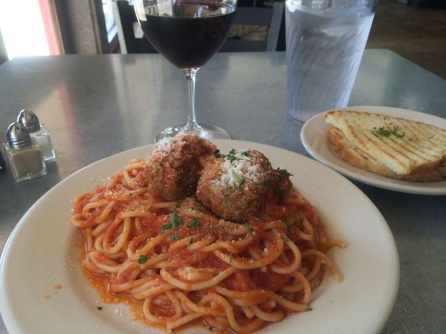 74. Paulie's Cuisine: ItalianEntree price: $$Where: 1834 WestheimerPhone: 713-807-7271Website: pauliesrestaurant.comRead Alison Cook's review of Paulie'sPictured above: Spaghetti and meatballs Photo: Syd Kearney, Houston Chronicle