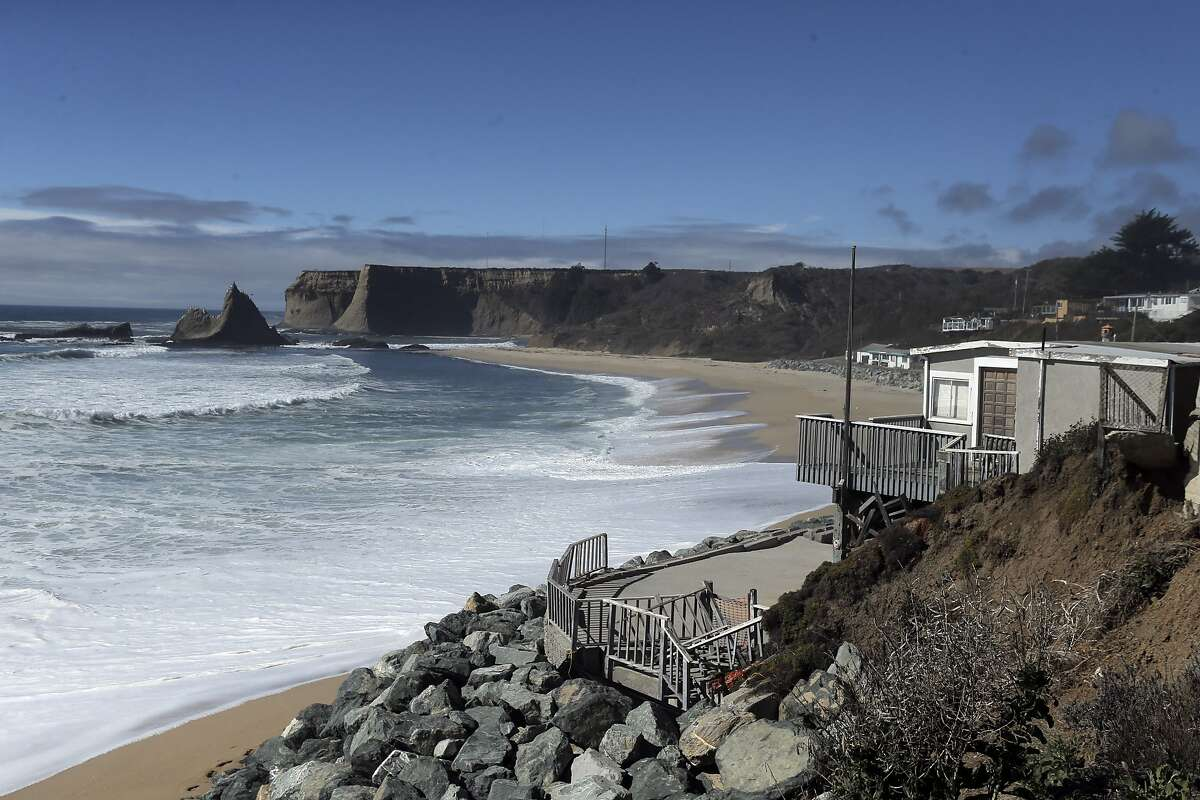 A view of the unused beach and community at Martin's Beach in San Mateo County, Calif., on Wednesday, September 24, 2014. A judge ruled on Wednesday, that property owner Vinod Khosla has to reopen the road that provides public access to the public beach.