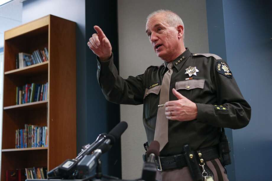 King County will pay $1.35 million to settle a lawsuit that has dogged Sheriff John Urquhart for two years. Photo: JOSHUA TRUJILLO, SEATTLEPI.COM