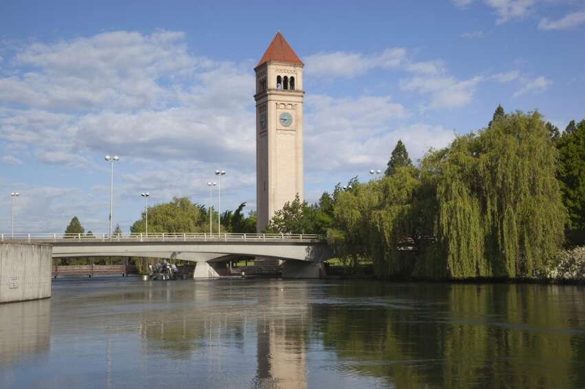15. Spokane Effective tax rate for households with $25,000 income: 10.4 percent Effective tax rate for households with $250,000 income: 3.4 percent