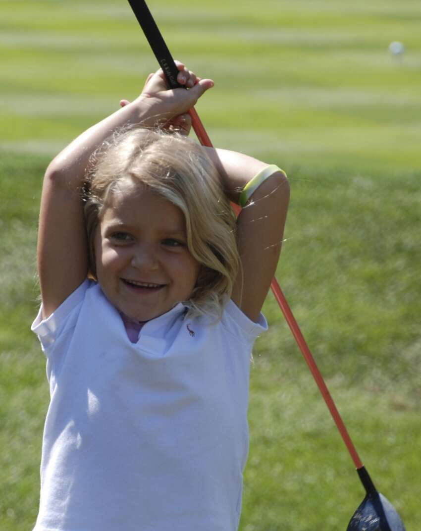 Katie Conrod was the official starter of the George Cup on September 18 at the Stanwich Club