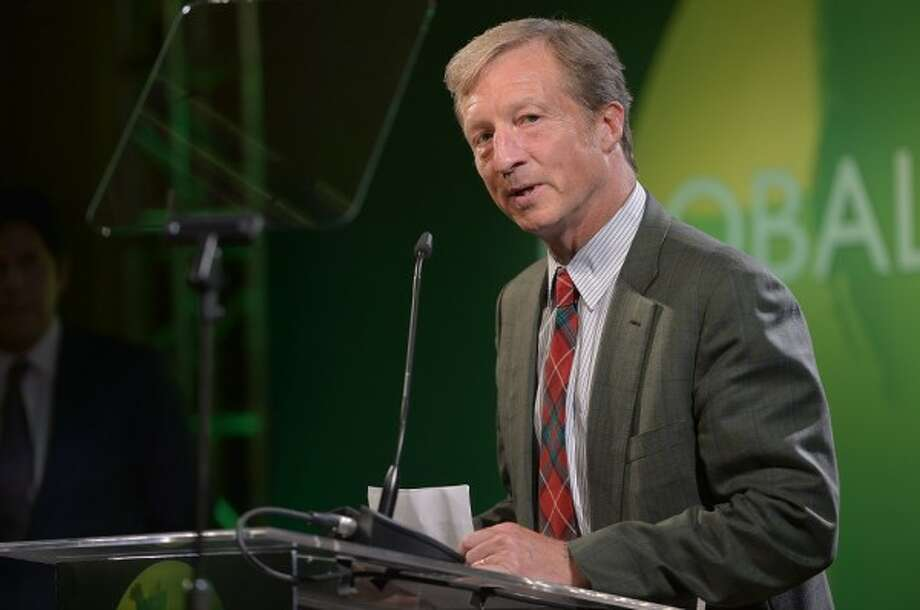 Billionaire environmentalist Tom Steyer:  He has launched a nationwide campaign to boost public support for the impeachment of President Trump.