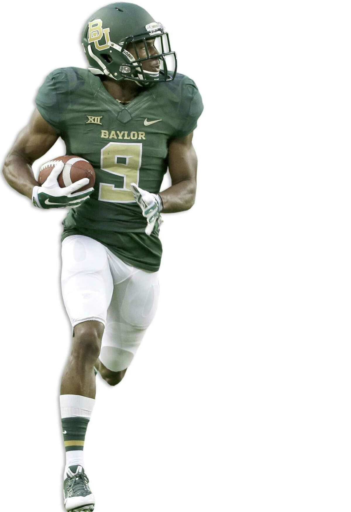 Baylor's KD Cannon has 14 receptions for 471 yards - good for a 33.6 yardsper-catch average - in his freshman season.