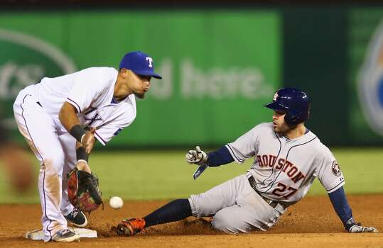 September 24: Rangers 5, Astros 1  The Rangers completed the three-game sweep of the Astros in the 2nd to last series of the season.  Record: 69-90. Photo: Ronald Martinez, Getty Images