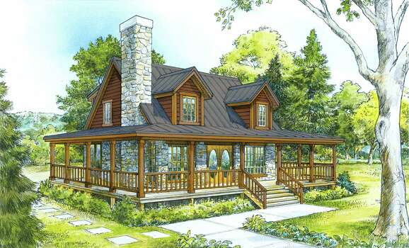 Cottages overlooking river valley available in hill for Texas hill country cottages for sale