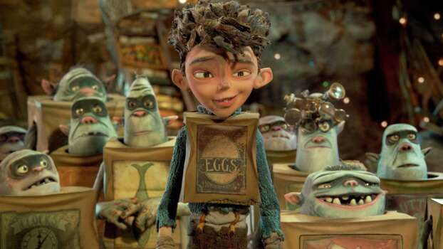 """Boxtrolls""IMDb: 7.2/10Review by Mick LaSalle: 'Boxtrolls' boxed in by underdog narrativeThree stars""Boxtrolls"" is in many ways a beautiful movie, and yet in other ways it's not very good at all. As an achievement in stop-motion animation, it's stunning - seamless and detailed, so perfectly done that it's easy to forget that you're witnessing skill and not magic. But as a 3-D film, its success is qualified, and as a story - as a fantasy that unspools over the course of 100 minutes - it feels like a throwback to the 1990s. Photo: Handout, HO / MCT"