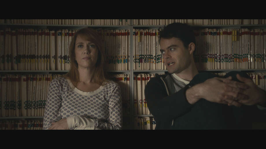 """""""Skeleton Twins""""IMDb: 7.5/10Review by Roger Moore: Mood swing in 'Skeleton Twins'3 starsIt's the phone call no one wants to answer. A relative has been hospitalized. He tried to kill himself.  Most inconveniently, when Maggie answers the phone, she has to discard the fatal fistful of pills she was about to pop. She has to go deal with brother Milo.  That's the curtain raiser on """"The Skeleton Twins,"""" a brittle and bruised comedy that manages to find something funny in a damaged, estranged brother and sister who can't see that if they stop leaning on one another, they'll both fall down. Again. / TM & ©2014 ROADSIDE ATTRACTIONS. ALL RIGHTS RESERVED."""
