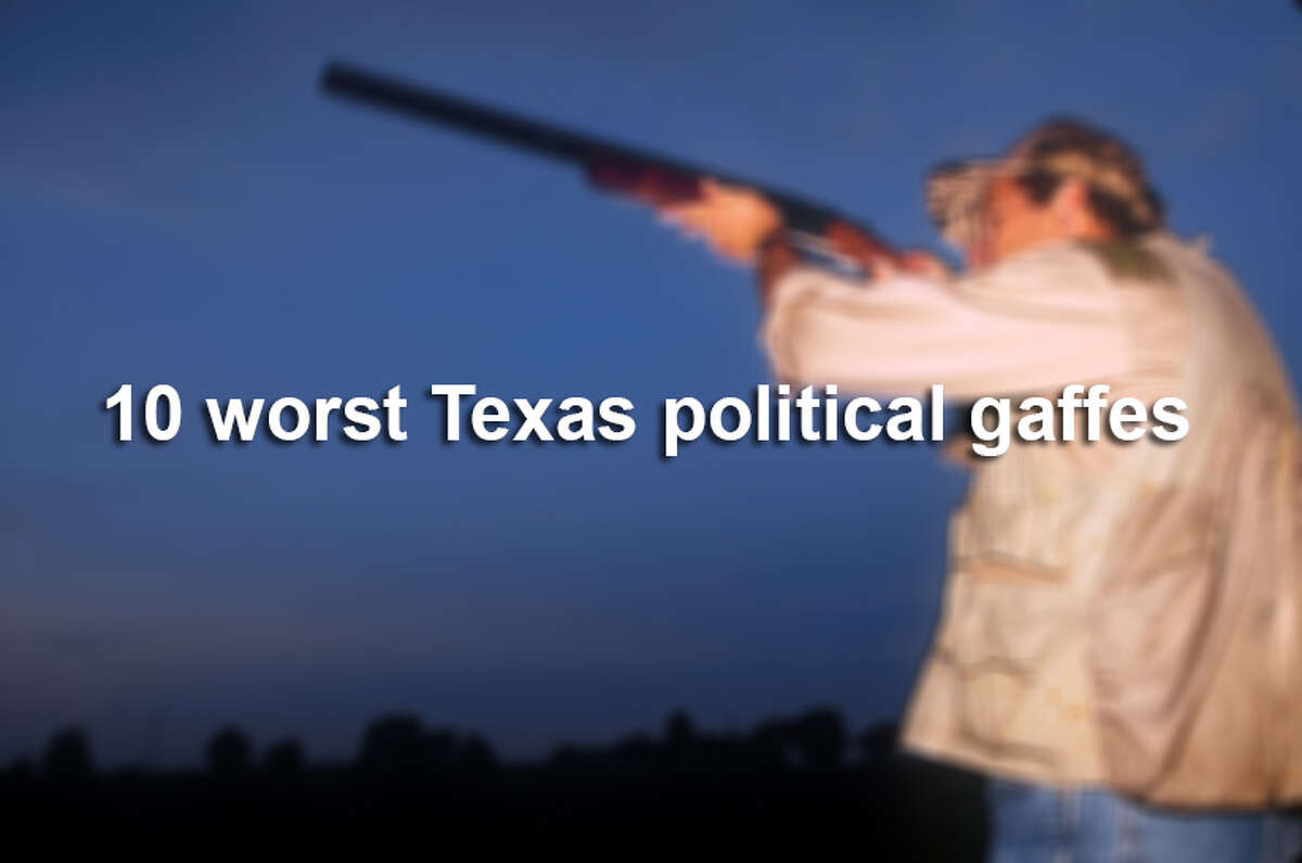 Through the years there have been some pretty wild things said and done by politicians in and from Texas. Click through to see some of the worst political missteps.