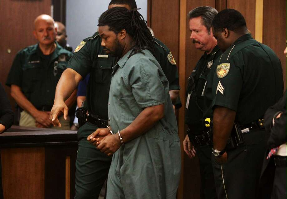 Jesse Leroy Matthew Jr. appears in a Galveston County courtroom on Friday, Sept. 25, 2014. He was arrested Wednesday and is charged in the disappearance of 18-year-old University of Virginia student Hannah Elizabeth Graham.See these other notorious crimes whose roots can be traced back to Galveston ... Photo: Gary Coronado / Houston Chronicle
