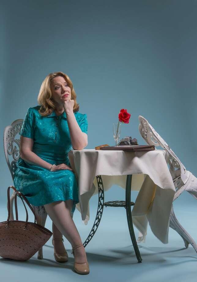 "Emily Skinner as Leona Samish in 42nd Street Moon's production of ""Do I Hear a Waltz?"" Photo: David Allen"