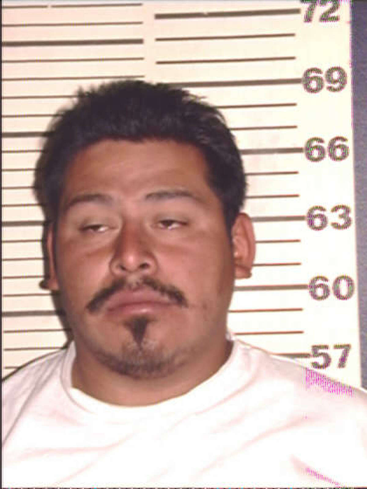 Bexar County mugshot from Feb. 2, 2002. Gregorio Santos, who has collected nine DWI convictions in Bexar County, was sentenced today to 25 years in prison Sept. 25, 2014.