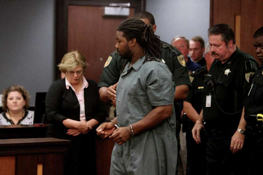 Jesse Leroy Matthew Jr., 32, charged with the abduction of a person with intent to defile, appears in the 405th Judicial District Court in front of Judge Michelle Slaughter for an extradition hearing at the Galveston County Justice Center Thursday, Sept. 25, 2014, in Galveston, Texas. Matthew Jr. waived extradition and will be released to authorities from Virginia. He was arrested Wednesday and is charged in the disappearance of 18-year-old University of Virginia student Hannah Elizabeth Graham. Photo: Gary Coronado, Houston Chronicle / © 2014 Houston Chronicle