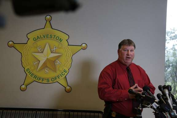 Sheriff Henry Trochesset Galveston County Sheriff's Office Speaks Thursday, Sept. 25, 2014, during a press conference  regarding the disappearance of University of Virginia student Hannah Elizabeth Graham and the Galveston arrest of a suspect in the case, Jesse Leroy Matthew Jr.