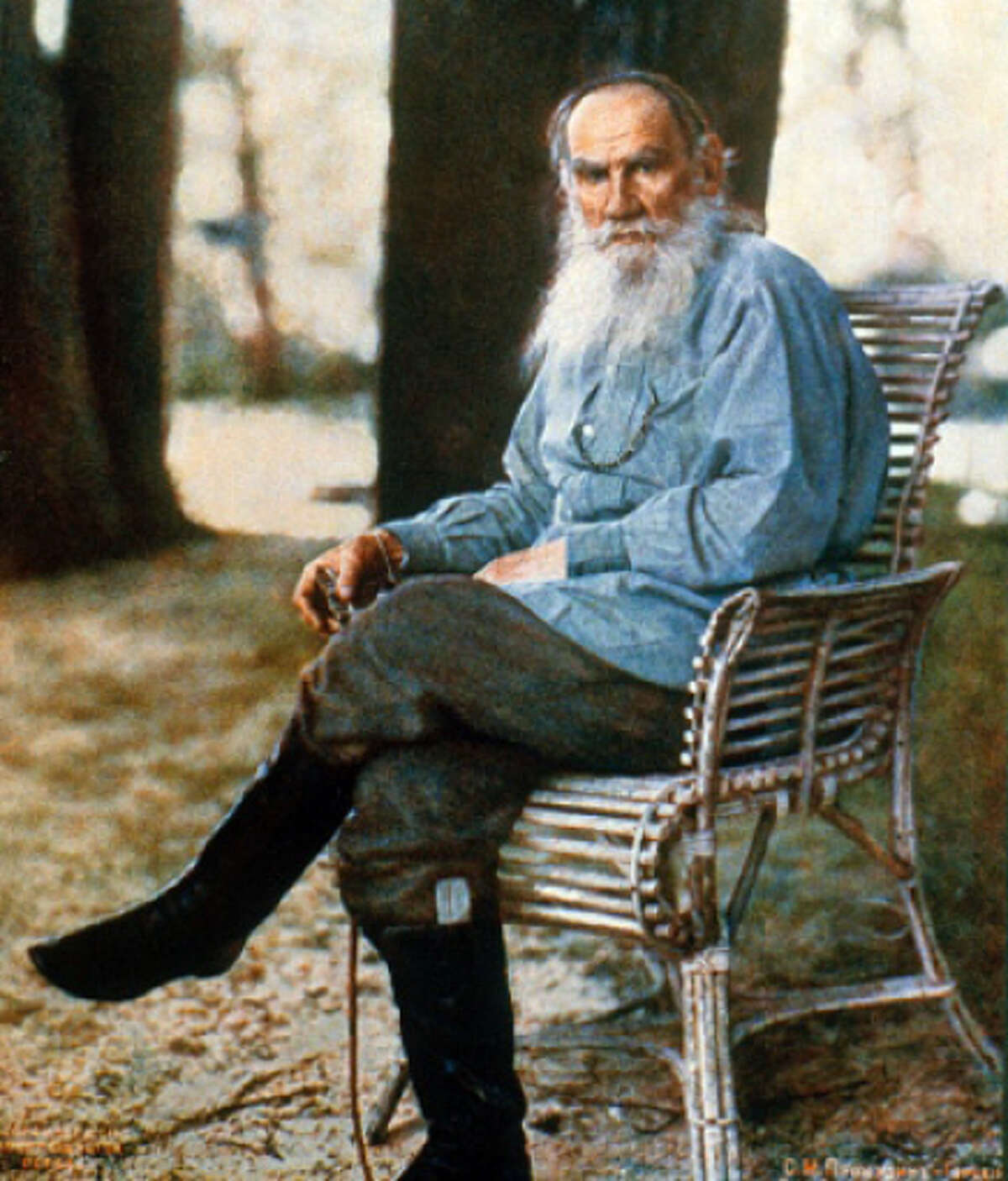 Leo Tolstoy is an example of a writer both engaging and delightful. No easy feat.
