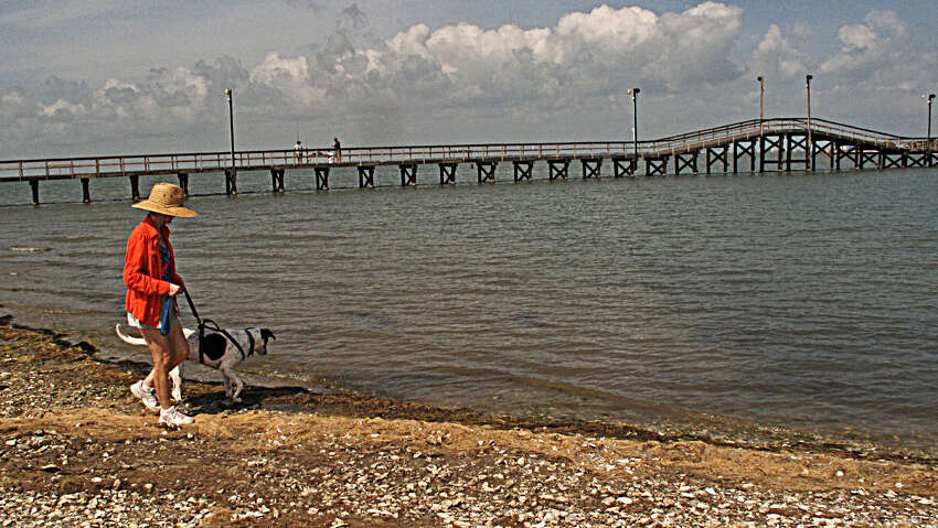 Goose Island State Park is open for day users and campers, Texas Parks and Wildlife officials said. The fishing pier and Trout Street camping area remain closed because of Hurricane Harvey, they said.