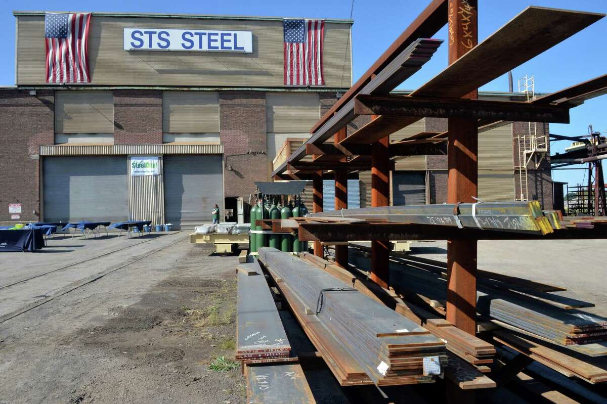 STS Steel facilities Friday Sept. 19, 2014, in Schenectady, NY. (John Carl D'Annibale / Times Union)