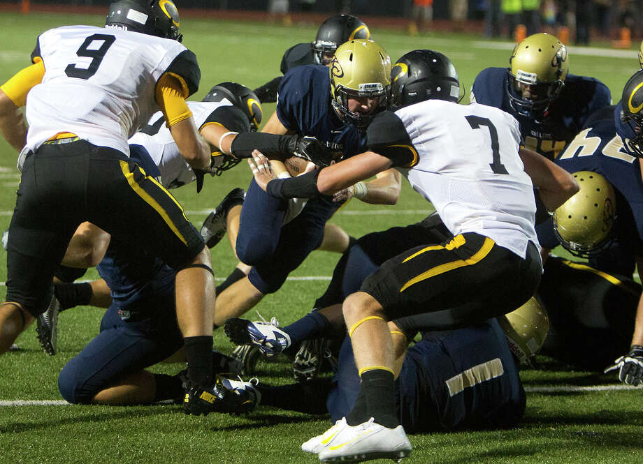 Klein Collins and Klein Oak are part of one of Houston's most rugged football districts in 17-6A, but is it the area's toughest?Click through the gallery to see our top 10 area football districts. Photo: Cody Duty, Houston Chronicle / © 2014 Houston Chronicle